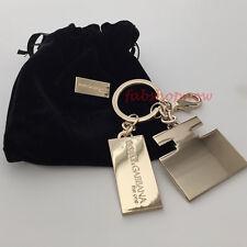 Dolce & Gabbana D&G The One Keyring Keychain w/Dust Bag