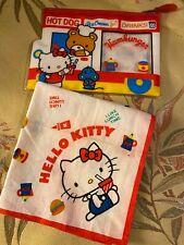 Vintage Sanrio 1976 Hello Kitty Zippered Pouch And Handkerchief Rare