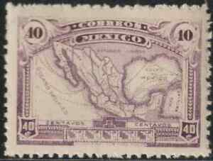 (OL52)MEXICO 1915 40c MAP MNH