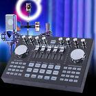 Digital Audio Mixer Live Sound Card K1 Audio Mixing Console Computer Phone NEW