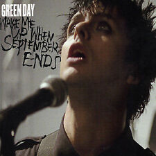 GREEN DAY Wake Me Up When September Ends CD New  3 Songs  Reprise 2004 FAST SHIP