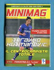 MINIMAG 2008-2009 N. 070 - ZORAVKO HUZMANOVIC - FIORENTINA
