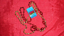 San Francisco 49ers Team Colored Beads Necklace NFL