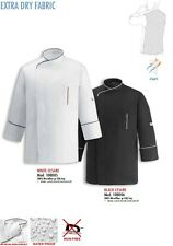 GIACCA CUOCO CESARE 100% MICROFIBRA EGOCHEF CHEF JACKET Kochjacke куртка ジャケ