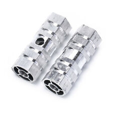 2PCS Bike Pedals Aluminum Alloy Axles BMX MTB  Pedal Bicycle Stunt Foot Pegs FE