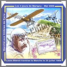 MARIGNY - 2009 - Louis BLERIOT traverse la Manche (Bloc N°21) - La Paire