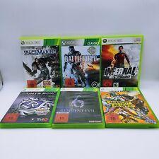 6 x Spiele Games Sammlung ORIGINAL Microsoft Xbox 360 mit OVP, CIB