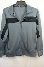 Med Men's PRE-OWNED Nike Dri Fit Livestrong Full Zipper Jacket Gray