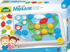 My first Mosaic von LENA, 36 Stecker und 7 Vorlagen, Mein Erstes Mosaik  35630