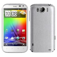 Skinomi Brushed Aluminum Full Body Cover+Screen Protector for HTC Sensation XL
