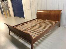 Bed frame country road  queen cherry wood excellent condition