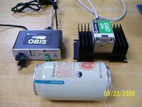 Coherent OBIS 532-50 Laser System Complete with Software! 31 Hours use!  NICE!!