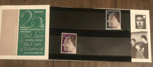 Royal Family Queen Silver Wedding GB Presentation Pack 1972,