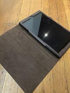 Amazon Fire HD 10 (7th Generation) 32 GB Bundled W/ Brown Folio Case
