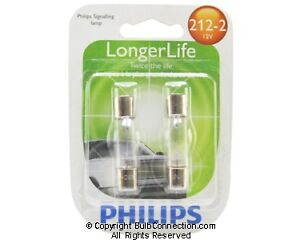 NEW Philips 212-2 Automotive 2-Pack 212-2LLB2 Bulb