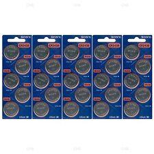25 NEW SONY CR2430 3V Lithium Coin Battery Expire 2027 FRESHLY NEW - USA Seller