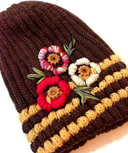 New Ladies Knitted Woolly Winter Oversized Slouch Beanie Hat Cap Skateboard