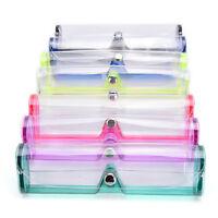 Stilvolle transparente weiche PVC-Schutzbox für Brillen