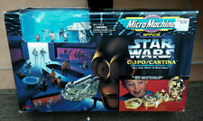 Star wars Death Star Cantina Han Colo  Micro Machines Sealed old stock galoob