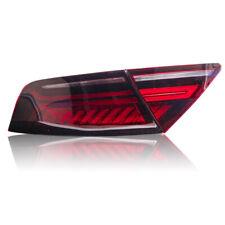For Audi A7 2012-2018 Red lens/full  LED Rear  Tail light Assembly