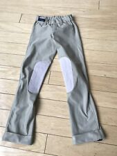 Kids Irideon Riding Pants Breeches Tights Youth Patches Equestrian Sz Sm