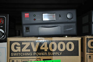 DIAMOND GZV-4000 40AMP POWER SUPPLY WITH BUILT IN EXTENSION SPEAKER