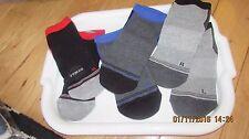 teen's black trainer socks, short ankle socks, shoe size UK 2.5 - 6, unisex