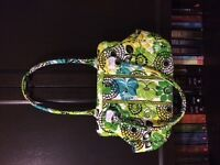"Brand New Vera Bradley Frame Bag, ""Lime's Up"""