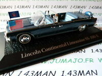 PR3M 1/43 norev présidentielle : LINCOLN Continental Limousine SS 100 X JFK