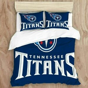 Tennessee Titans Football Bedding Set 3PCS Duvet Cover & Pillowcase Quilt Cover