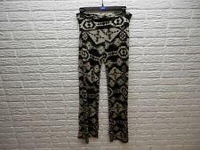 Solo La Fe Aztec Foldover Pants Size L