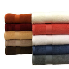 "Super Soft Plush Highly Absorbent 2 PC Bath Seets 33 x 63"" 100% Combed Cotton"