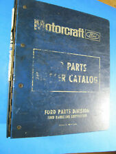FORD 1973-79 TRUCK 600/900 MASTER PARTS CATALOG TEXT 1989 FPS 8097-A
