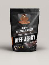 BEEF JERKY 200G SMOKEY AUSTRALIAN PERFECT SNACK WINE BEER CIDER SPIRITS
