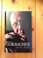 Mikhail Gorbachev-The New Russia-Signed-Rare