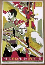 Tomer Hanuka STAR TREK Poster MIRROR MIRROR Mondo Movie Screen Print Stout SDCC