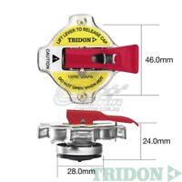 TRIDON RADIATOR CAP SAFETY LEVER FOR Subaru Brumby 03/84-03/94 4 1.8L EA81 OHV