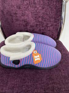 Homeys Ladies Slipper Size 3/4. Memory Foam Insole.