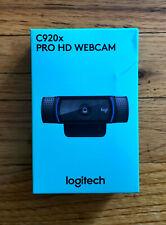 🔥BRAND NEW Logitech C920x Pro HD Webcam - Black **IN HAND** **FREE SHIP**🔥