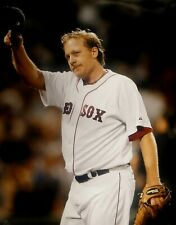 Curt Schilling Unsigned 16x20 Photo Boston Red Sox Pitcher Hats Off