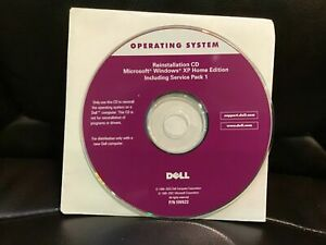 Reinstallation CD Microsoft Windows XP Home Edition Including Service Pack 1