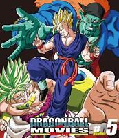 DRAGON BALL Z THE MOVIES Vol.5 Blu-ray Booklet Japan BSTD-20165 4988101202294