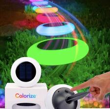 Colorized led solar lights
