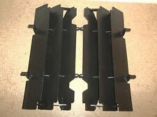 Black KTM Radiator Guards 125 200 250 300 360 380 400 520 540 620 EXC MXC SX SC