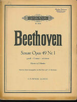 Beethoven ~ Sonate Opus 49 Nr. 1 g-moll