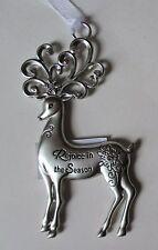 ccd Rejoice in the Season Merry Reindeer Christmas Ornament Ganz Car Charm