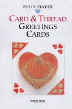 Card and Thread Greetings Cards (Handmade Greeting Cards), Pinder, Polly, New Bo