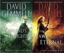 David Gemmell HAWK QUEEN Fantasy Series Paperback Collection Set Books 1-3