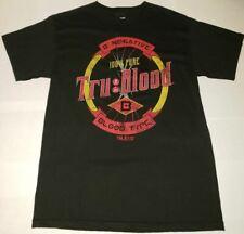 HBO'S True Blood: Tru Blood Adult T-shirt (Size S), Black