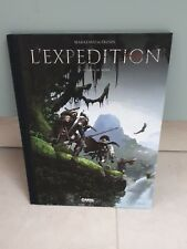 TL 1500 ex > Marazano & Frusin : L'EXPEDITION #1 - Le lion de Nubie (Canal BD)